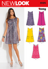 New Look - NL6125 Misses' Dress | Easy - WeaverDee.com Sewing & Crafts - 1