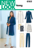 New Look - NL6163 Misses Separates | Easy - WeaverDee.com Sewing & Crafts - 1