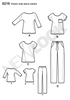 New Look - NL6216 Misses' Knit Tops & Pants | Easy - WeaverDee.com Sewing & Crafts - 2
