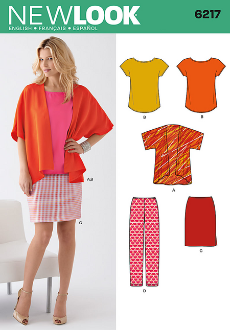 New Look - NL6217 Misses' Separates - WeaverDee.com Sewing & Crafts - 1