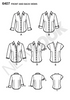 New Look - NL6407 Misses Shirt | Easy - WeaverDee.com Sewing & Crafts - 3