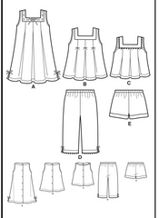 New Look - NL6473 Toddler Separates | Easy - WeaverDee.com Sewing & Crafts - 1