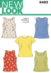 New Look - NL6483 Misses Top | Easy - WeaverDee.com Sewing & Crafts - 1