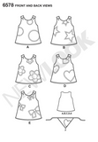 New Look - NL6578 Toddler Dress | Easy - WeaverDee.com Sewing & Crafts - 3