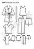 New Look - NL6847 Children's Sleepwear | Easy - WeaverDee.com Sewing & Crafts - 2