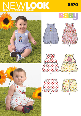 New Look - NL6970 Babies' Separates - WeaverDee.com Sewing & Crafts - 1
