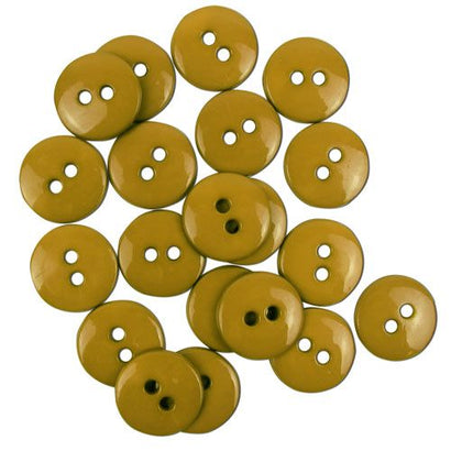 Favourite Findings Buttons: Parchment Small 16mm (pack of 20)