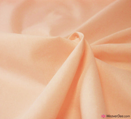Poly Cotton Fabric / Peach