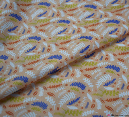 Cotton Craft Company Fabric - By The Pond / Pink Fern