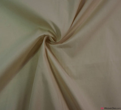 Poly Cotton Fabric / Beige