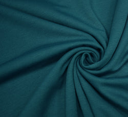 Ponte Roma Jersey Fabric / Teal