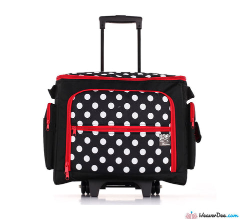 Prym Polka Dot Sewing Machine Trolley Case