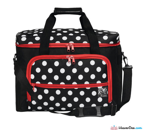 Prym Polka Dot Sewing Machine Carry Case