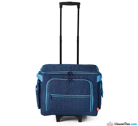 Prym Denim Blue Sewing Machine Trolley Case