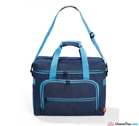 Prym Denim Blue Sewing Machine Carry Case