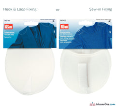 Prym - Raglan Shoulder Pads / White - WeaverDee.com Sewing & Crafts