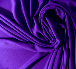 Purple Lightweight Crêpe Fabric