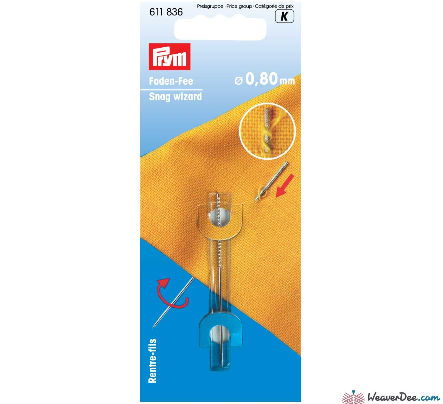 Prym - Snag Repair Wizard - WeaverDee.com Sewing & Crafts - 1