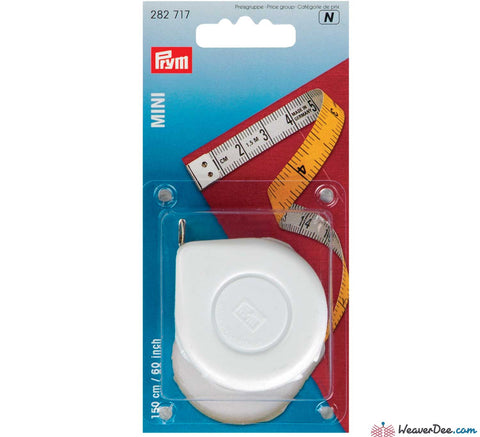 Prym - Retractable Tape Measure (Inches & cm) - WeaverDee.com Sewing & Crafts - 1