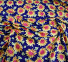 Rose & Hubble Cotton Poplin Fabric - Sunflowers Navy