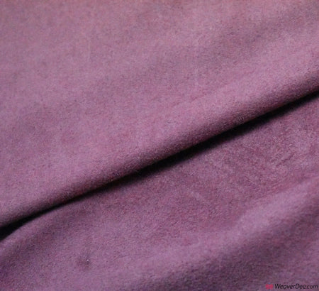Faux Suede Fabric / Rose Pink