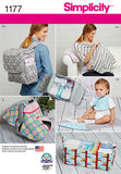 Simplicity - S1177 Accessories for Babies - WeaverDee.com Sewing & Crafts - 1