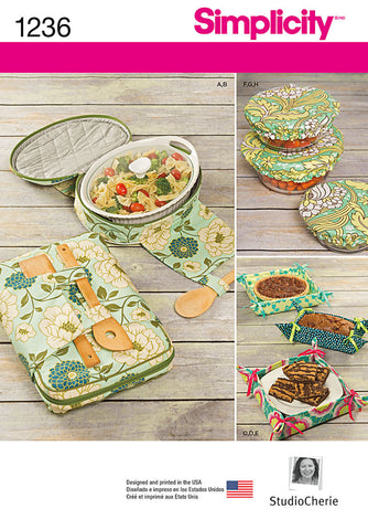 Simplicity - S1236 Casserole Carriers, Gifting Baskets & Bowl Covers - WeaverDee.com Sewing & Crafts - 1