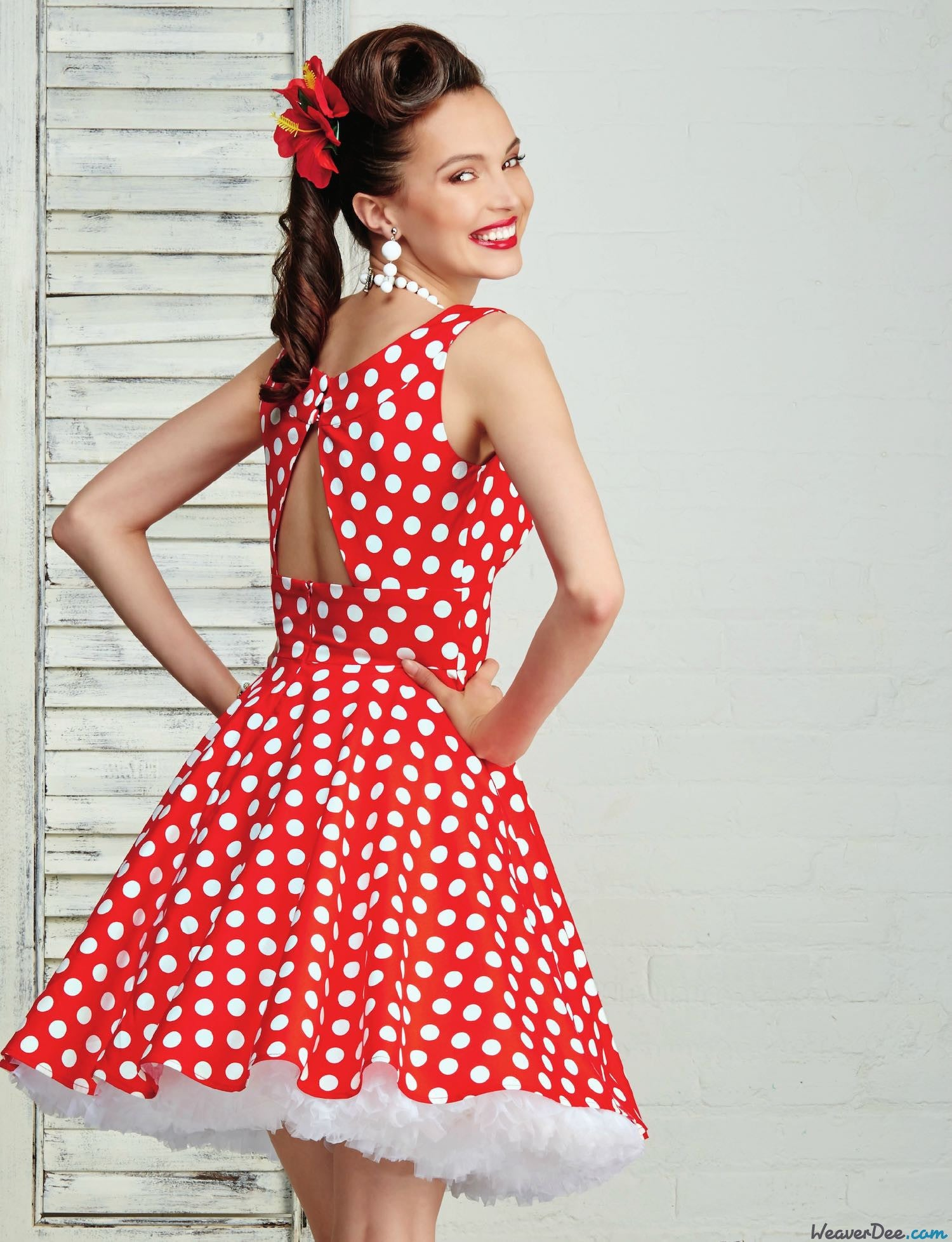 Simplicity Pattern: S8051 Misses & Plus Size Rockabilly Dresses ...