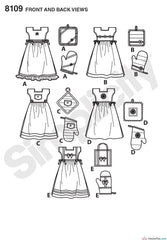 Simplicity - S8109 Towel Dresses, Pot Holders & Oven Mitts - WeaverDee.com Sewing & Crafts - 1