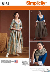Simplicity - S8161 Misses' 18th Century Costumes - WeaverDee.com Sewing & Crafts - 1