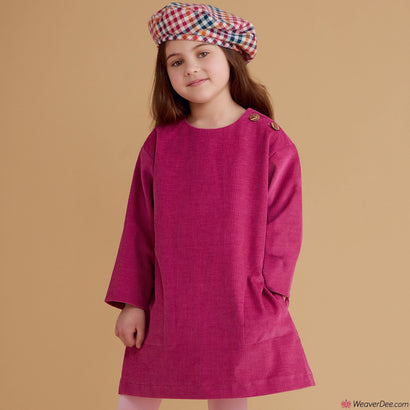 Simplicity Pattern S8964 Children's Dresses, Tops, Pants & Hat