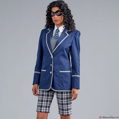 Simplicity Pattern S9094 Cosplay School Uniform (Misses', Men's & Teens')
