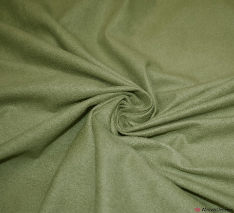 Faux Suede Fabric / Sage Green