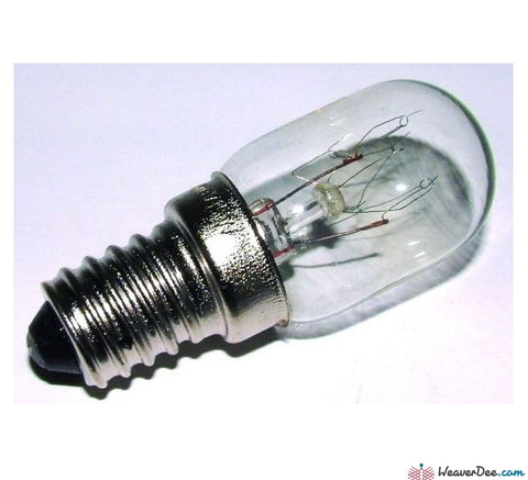 Janome - Sewing Machine Bulb [Small Screw Cap] - WeaverDee.com Sewing & Crafts