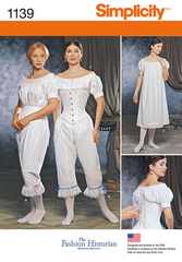 Simplicity - S1139 Misses' Civil War Undergarments - WeaverDee.com Sewing & Crafts - 1
