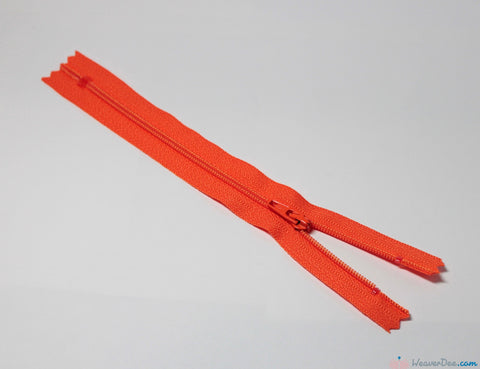 YKK - Regular Skirt & Dress Zip [523 Tangerine] - WeaverDee.com Sewing & Crafts