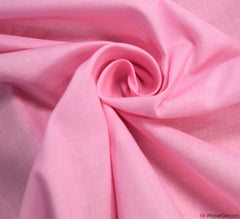 Plain Cotton Fabric / Baby Pink (60 Square)