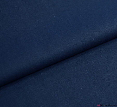 Plain Cotton Fabric / Navy Blue (60 Square)