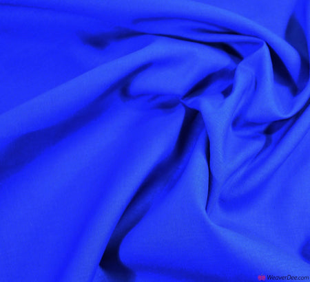 Plain Cotton Fabric / Royal Blue (60 Square)