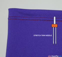 SCHMETZ Stretch Twin Machine Needle Two Size Options Value Pack of 2