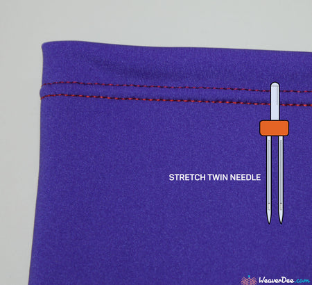 SCHMETZ  4MM Stretch Twin Machine Needle Value Pack of 2