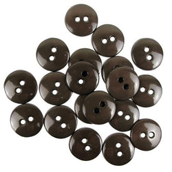 Favourite Findings Buttons: Taupe Small 16mm (pack of 20)