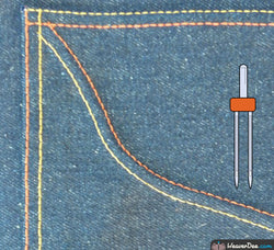 Schmetz - 4mm Twin Machine Needle - Size 90/14 - WeaverDee.com Sewing & Crafts - 1
