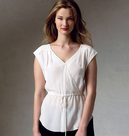 Vogue - V1387 Misses' Top | Easy | Rebecca Taylor - WeaverDee.com Sewing & Crafts - 1
