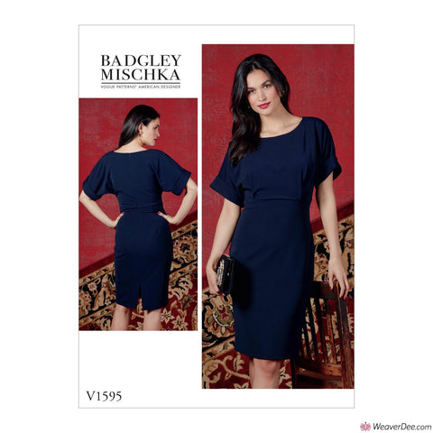 Vogue Pattern V1595 Misses' Dress