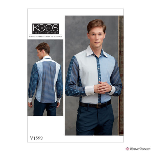 Vogue Pattern V1599 Men's Shirt