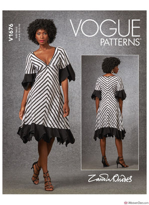 Vogue Pattern V1676 Misses' Dress