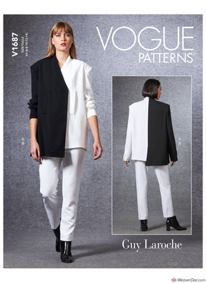 Vogue Pattern V1687 Misses' Jacket & Trousers