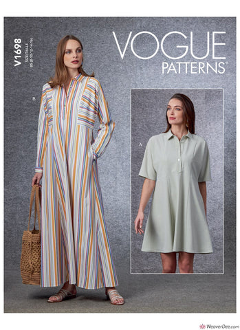 Vogue Pattern V1698 Misses' Dress