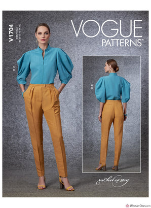 Vogue Pattern V1704 Misses' Tops & Trousers
